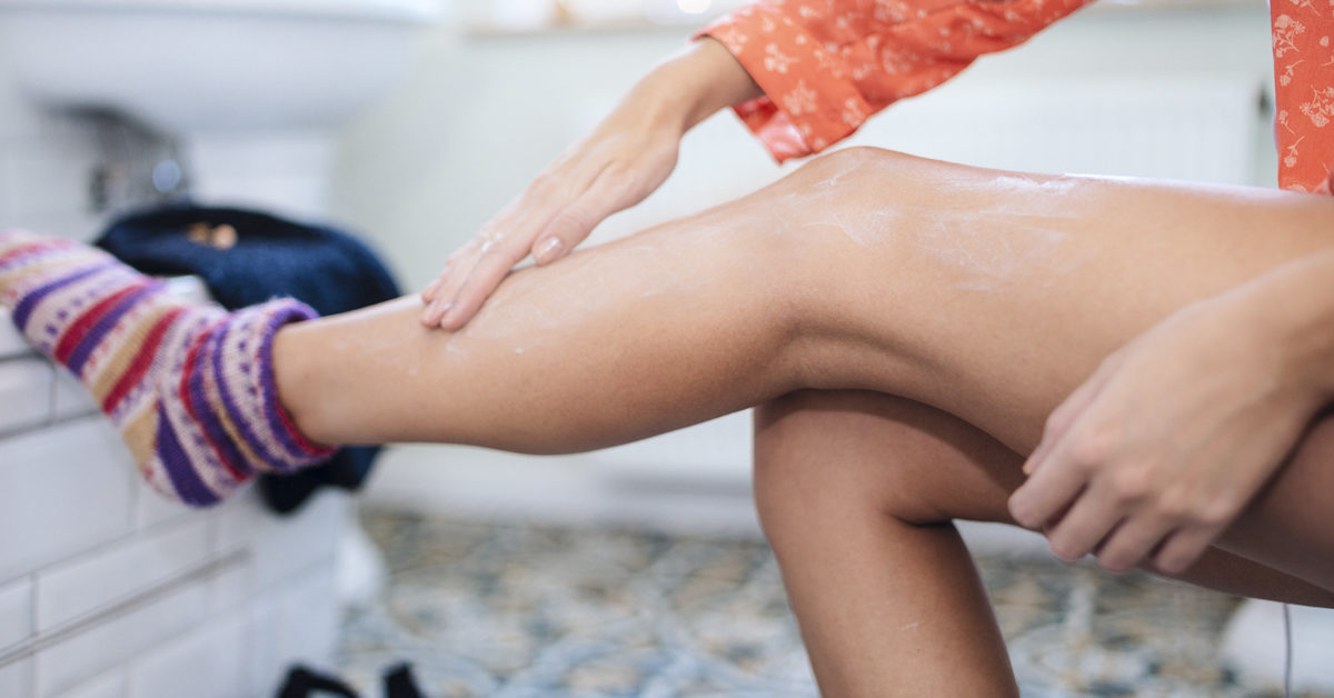 How to Get Wax Off Skin